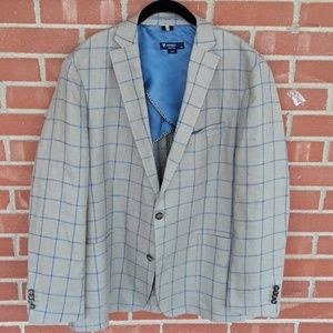 Cremieux 100% linen sport coat blazer size XL